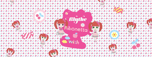 Header for the flickr group Blythe Ribonetta Wish | by hinokiboy