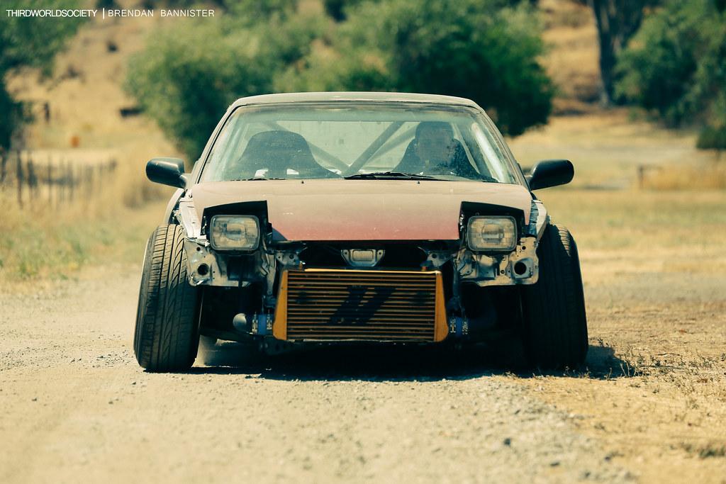 Nissan 240sx Drift Car Driveway Built Brendan Bannister Flickr