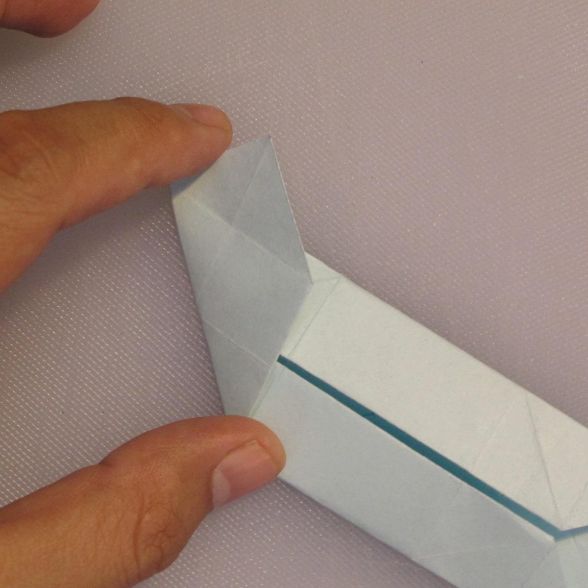 วิธีพับกระดาษเป็นรูปกล่อง 009