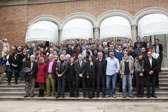 Foto de Família dels Nominats als VI Premis Gaudí