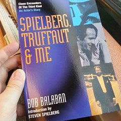reading @bobbalaban's Close Encounters Of The Third Kind actor's diary, great fun