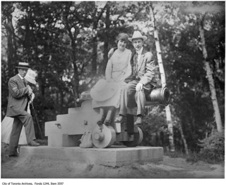 Couple on cannon, High Park | by Toronto History