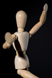 Wooden Mannequin | by eddit