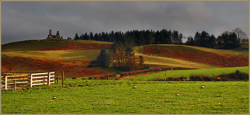 colour church canon landscape ruins hills tipperary