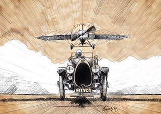 019_Black Bess_Airplane_Design Sketch
