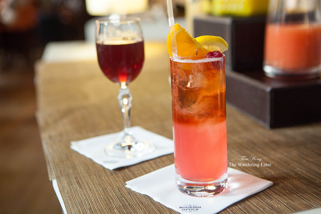 Victorian Manhattan and Criterion Lemonade