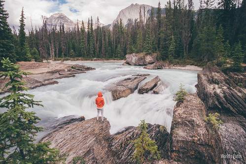 Natural Bridge, Yoho National Park | by The World's Paths