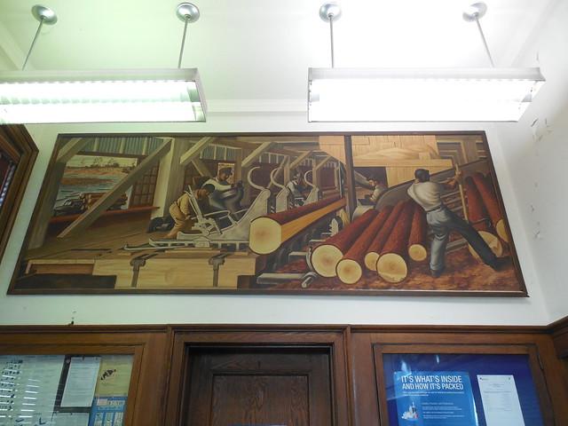 Trinity, Texas Post Office Mural