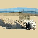 Bournemouth Beach - Evening #bournemouth #beach #evening #shadows #pier #nofilter #instagrames #instalike #seaside #seagull