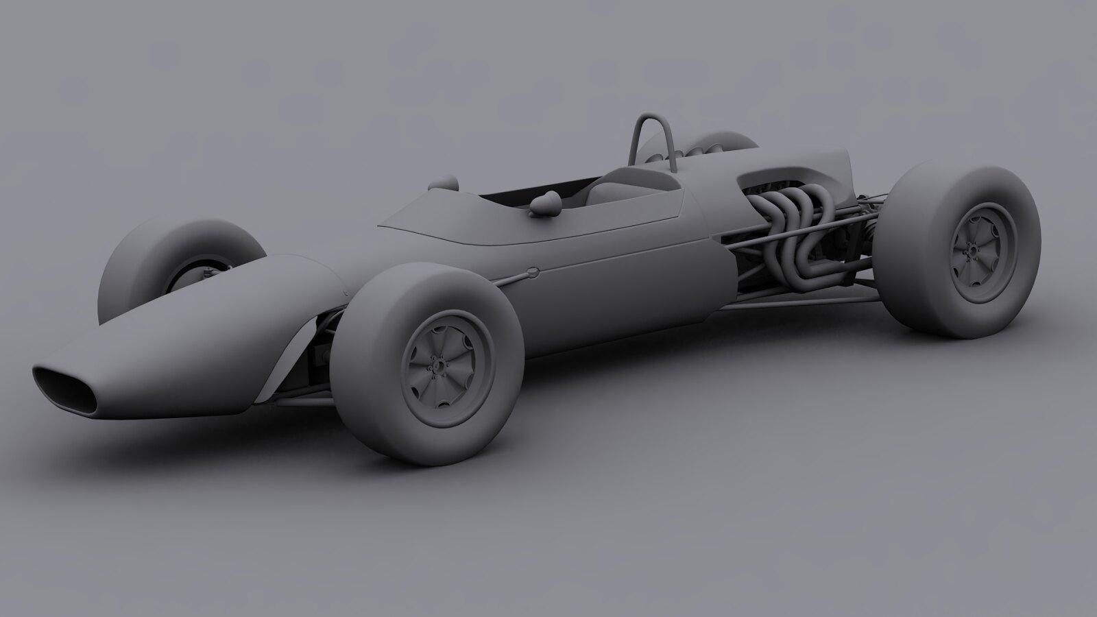 rFactor 2 - 1967 Formula 2 Mod Bt23