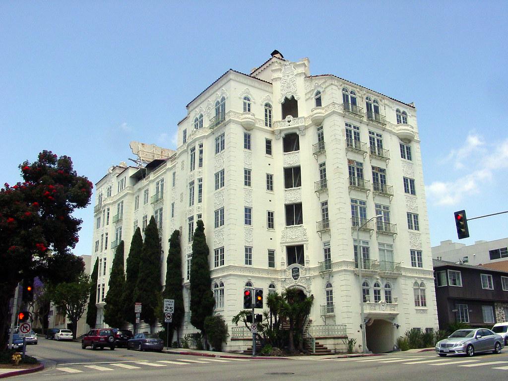 08a El Mirador Apartments 1302 N Sweetzer Ave E Flickr