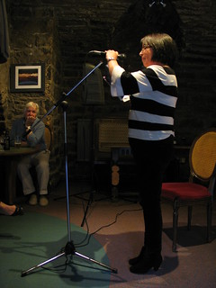 Irene Hossack at Shore Poets June 2013 | by TheObviousChild
