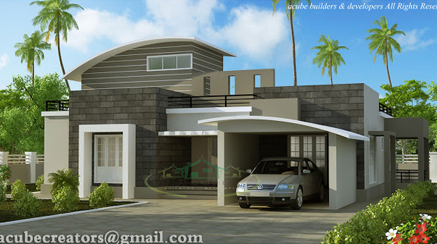 . contemporary house plans   www keralahouseplanner com    Flickr