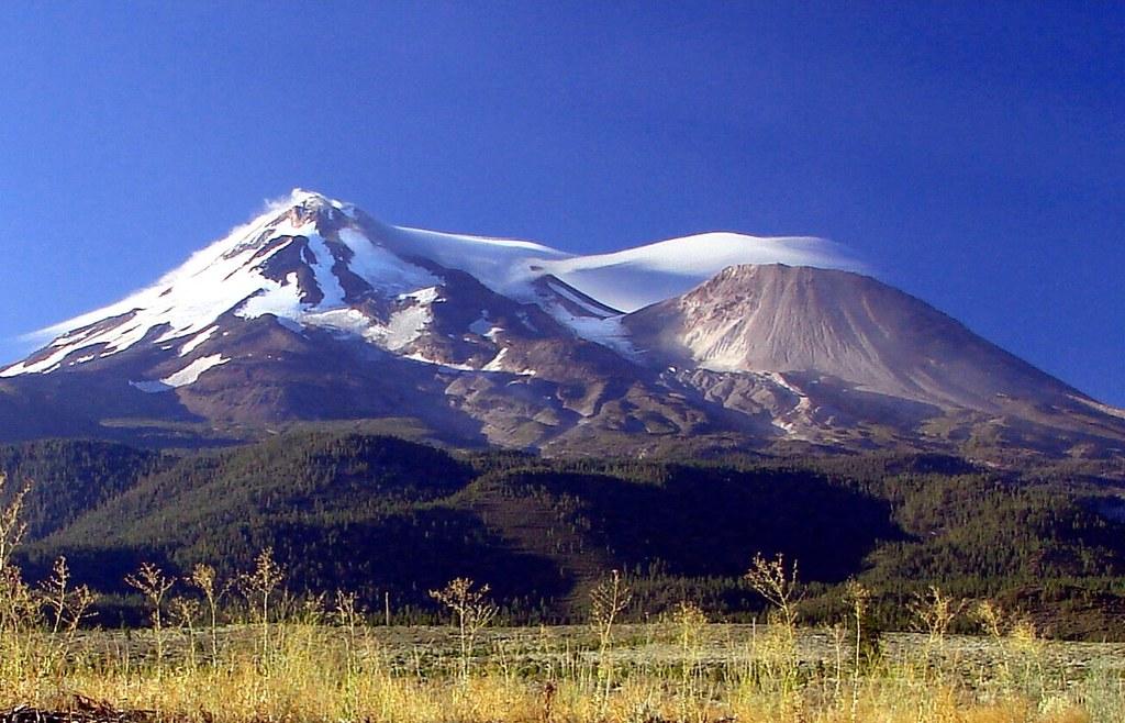 Mt. Shasta - Mt. Shastina, CA 8-28-13b