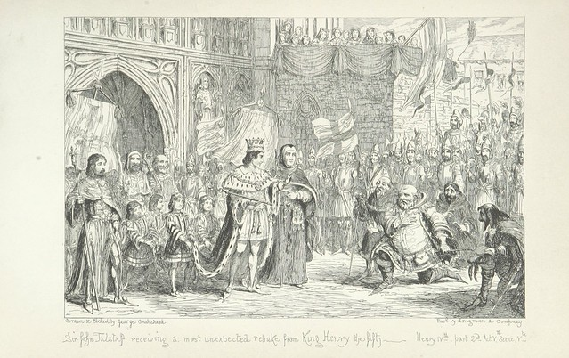 """British Library digitised image from page 265 of """"The Life of Sir John Falstaff"""""""