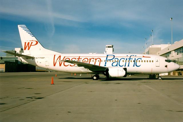 Western Pacific Airlines | Boeing 737-300 | N963WP | Denver International