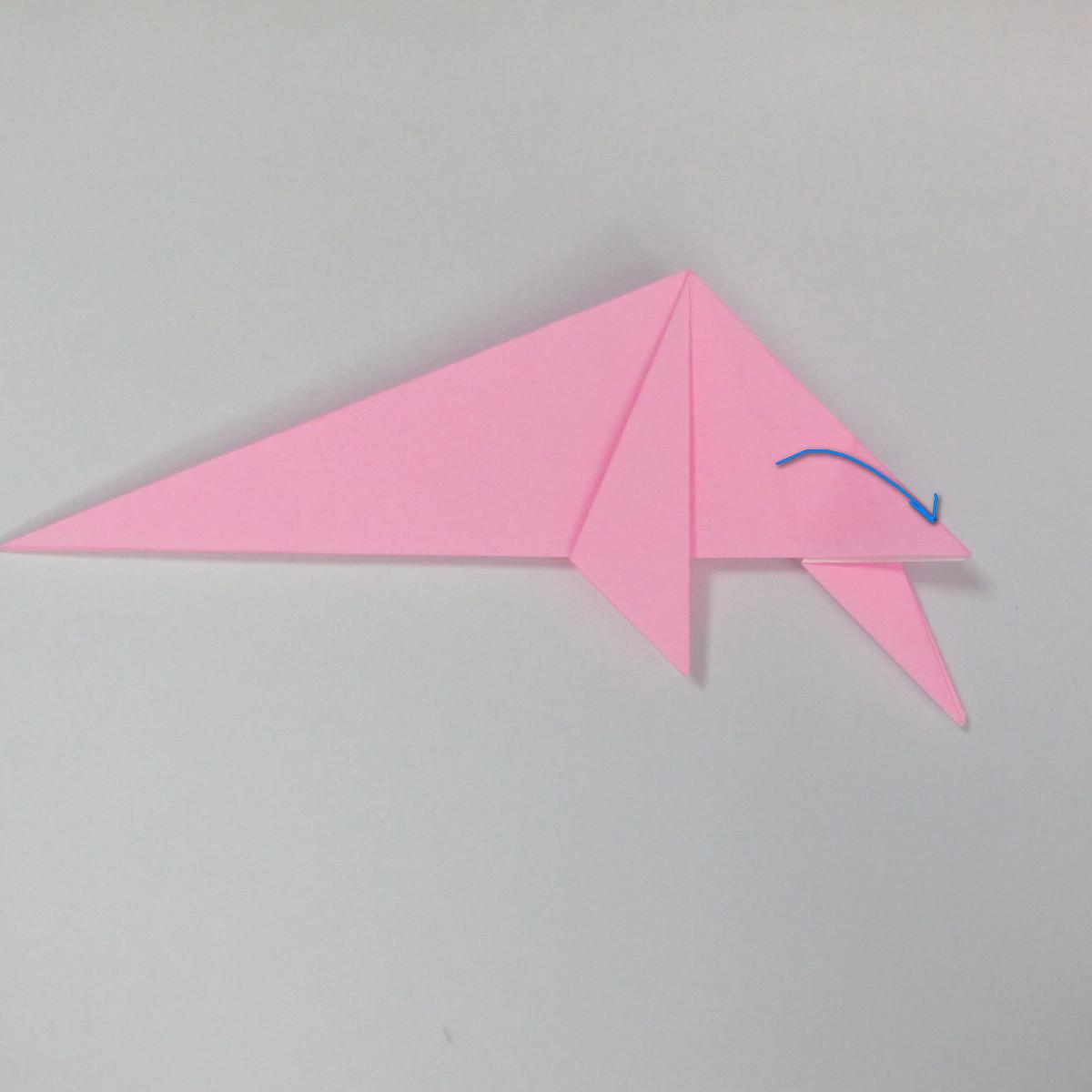 สอนการพับกระดาษเป็นลูกสุนัขชเนาเซอร์ (Origami Schnauzer Puppy) 047