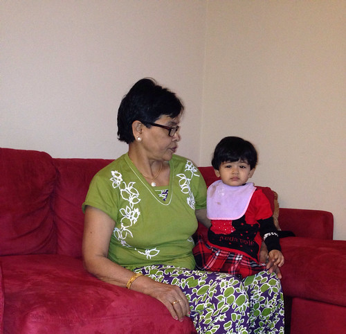 Niece, Hannah... w/ Grandma. | by Esoteric_Desi