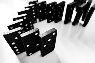 domino effect (cc) | by marfis75