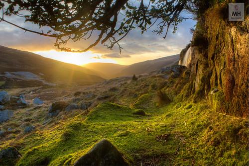 ireland sunlight sunrise canon dawn spring glendalough valley 5d wicklow mkiii glendasan 312a0700