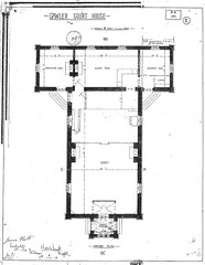 Courthouse plan - 1882 0329
