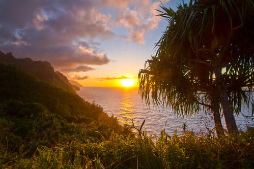 Napali Coast Sunset | by Jeff Pang