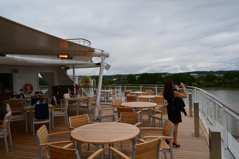 Yacht Club Restaurant - Visite du MS EUROPA 2 - Bordeaux - 20 mai 2013