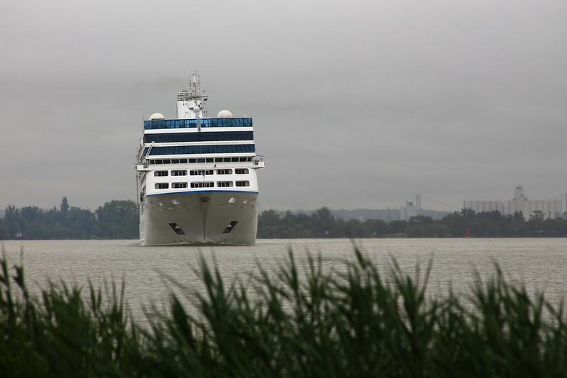 Départ du paquebot MS NAUTICA - Bordeaux - Ambès - 18 juin 2013