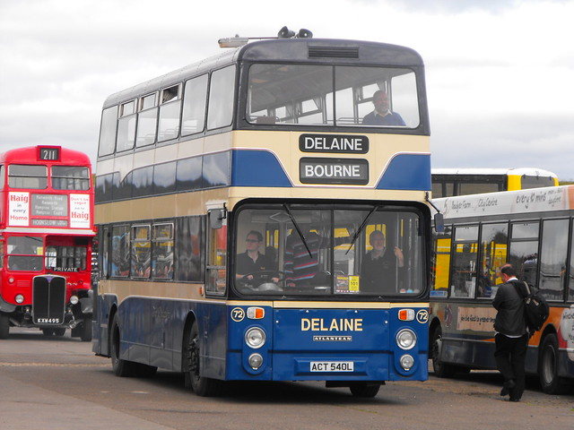 72, ACT 540L, Leyland Atlantean, Northern Counties Body H47-35F, 1972 (t.2013)