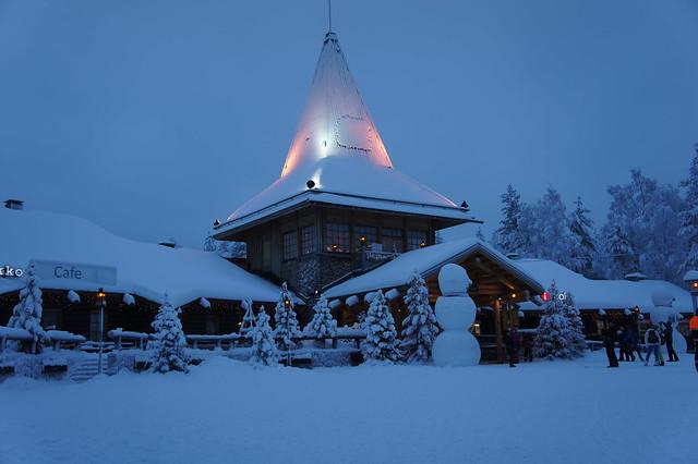 Santa claus village, rovaniemi Finland