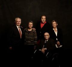 Nous membres d'Honor de l'Acadèmia del Cinema Català: Joan Mariné, Marta Selva, Paco Poch, Francesc Pérez-Dolz, Anna Solà