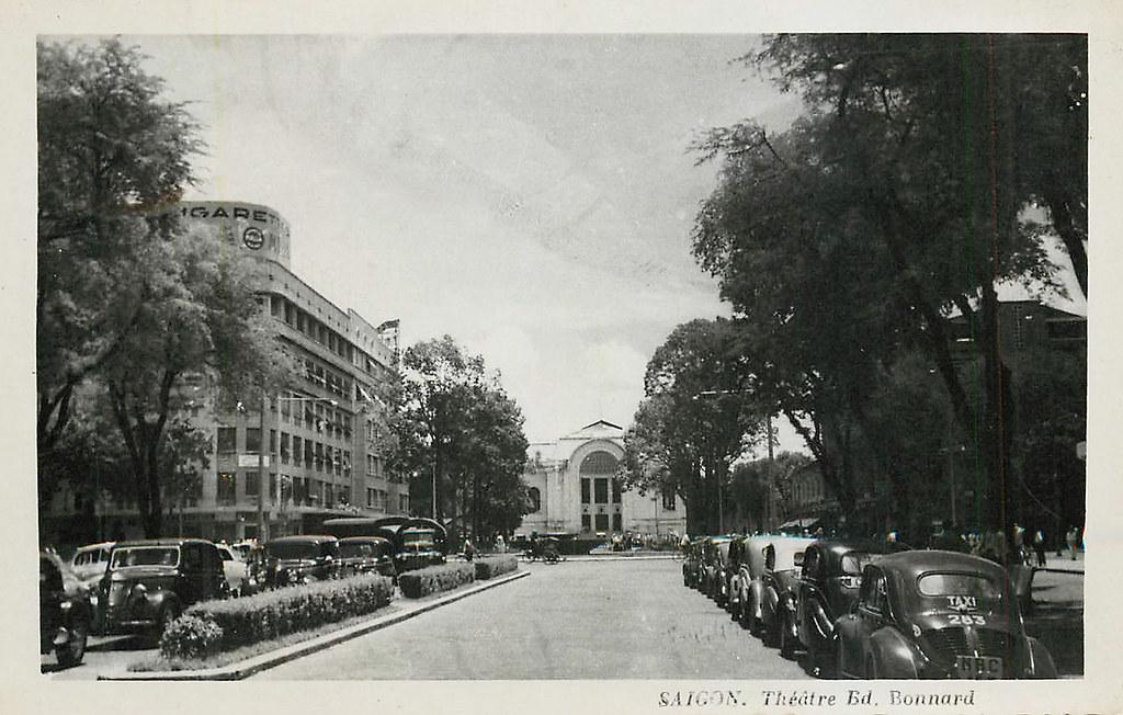 SAIGON 1954 - BOULEVARD BONARD | manhhai | Flickr