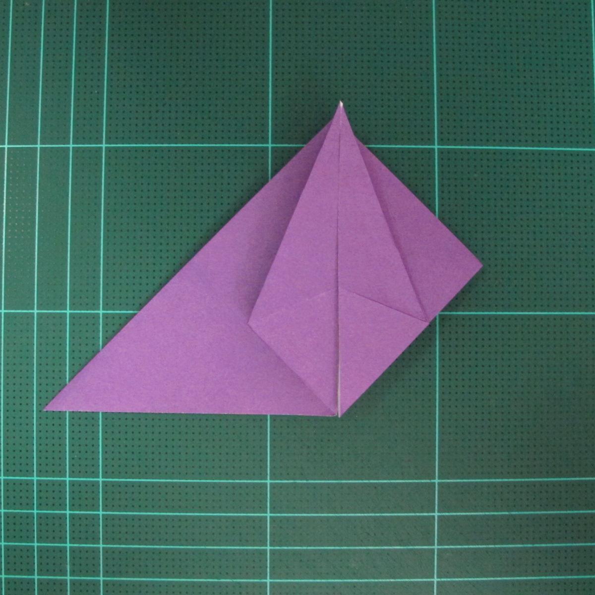 การพับกระดาษเป็นฐานนกอินทรี (Origami Eagle) 020