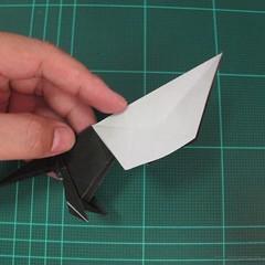 วิธีการพับกระดาษเป็นรูปจิงโจ้ (Origami Kangaroo) 025