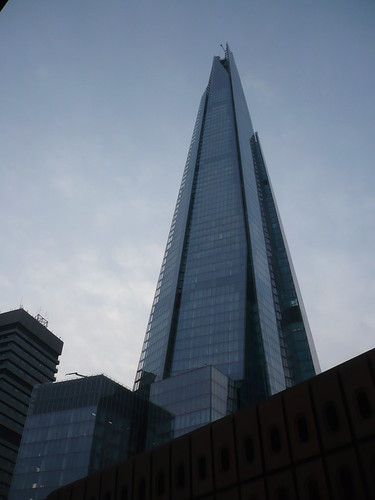 Shard from London Bridge Station