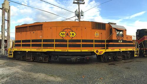 gp28 alm1812 crossett emd train railroad