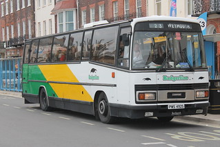 PWS 492S Leyland Leopard/ rebodied Plaxton Paramount, Weymouth | by charlie cars