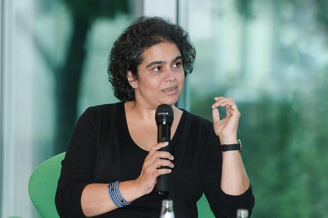 Prof. Dr. Nivedita Prasad (Alice Salomon Hochschule Berlin - Trägerin des Anne-Klein-Frauenpreises 2012 ) ,  Foto: Isis Martins  Foto: Isis Martins