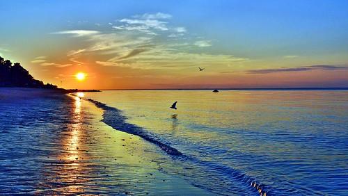 sunset beach longisland 1001nights fortsalonga callahansbeach 1001nightsmagiccity
