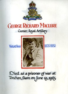 Maclure, George Richard (1911-1943) | by sherborneschoolarchives