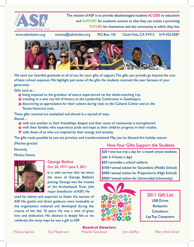 ASF Newsletter 2011