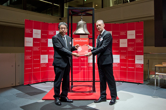 Best Global Brands 2013 Tokyo Stock Exchange