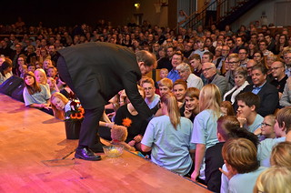 Brassbandfestivalen 2013 - Martin Lindor lottar (Foto: Olof Forsberg)