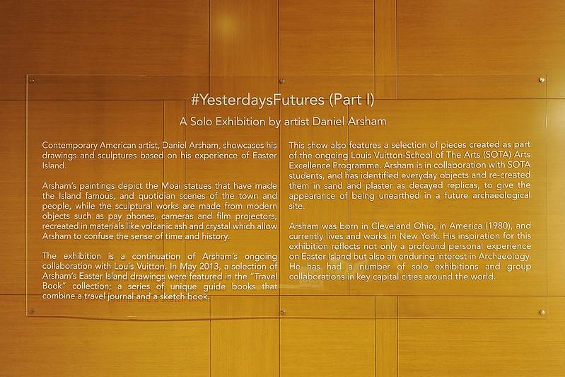 Daniel Arsham - #YESTERDAYSFUTURES at Espace Louis Vuitton Singapore