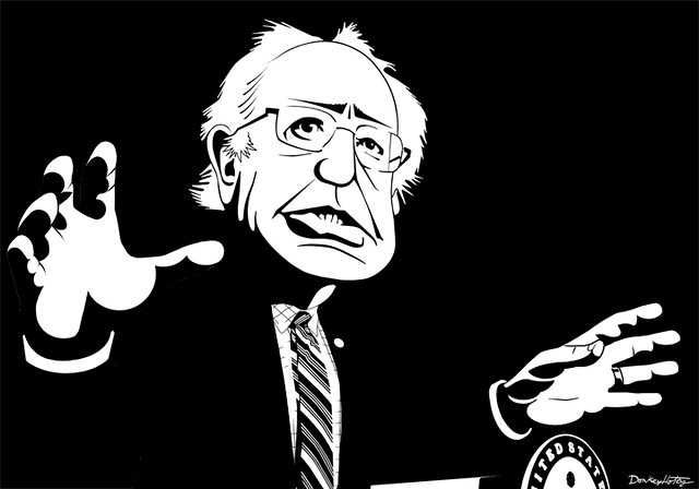 Bernie Sanders - Caricature