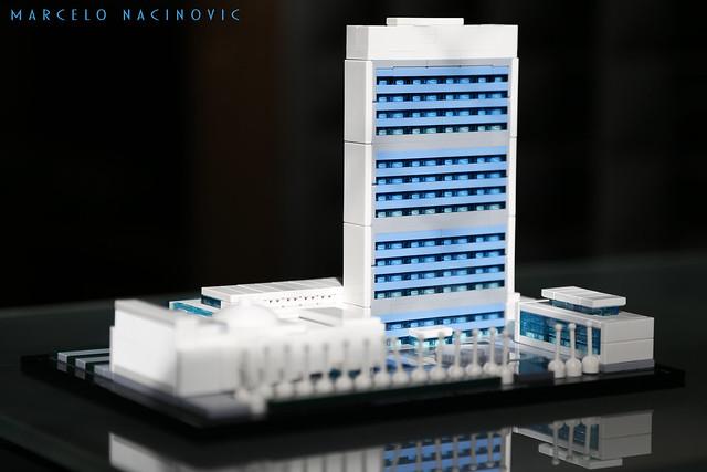 United Nations Headquarters Lego Architecture