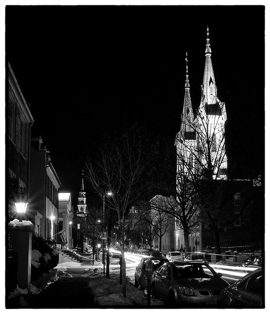 Christmas in Frederick (night shots)
