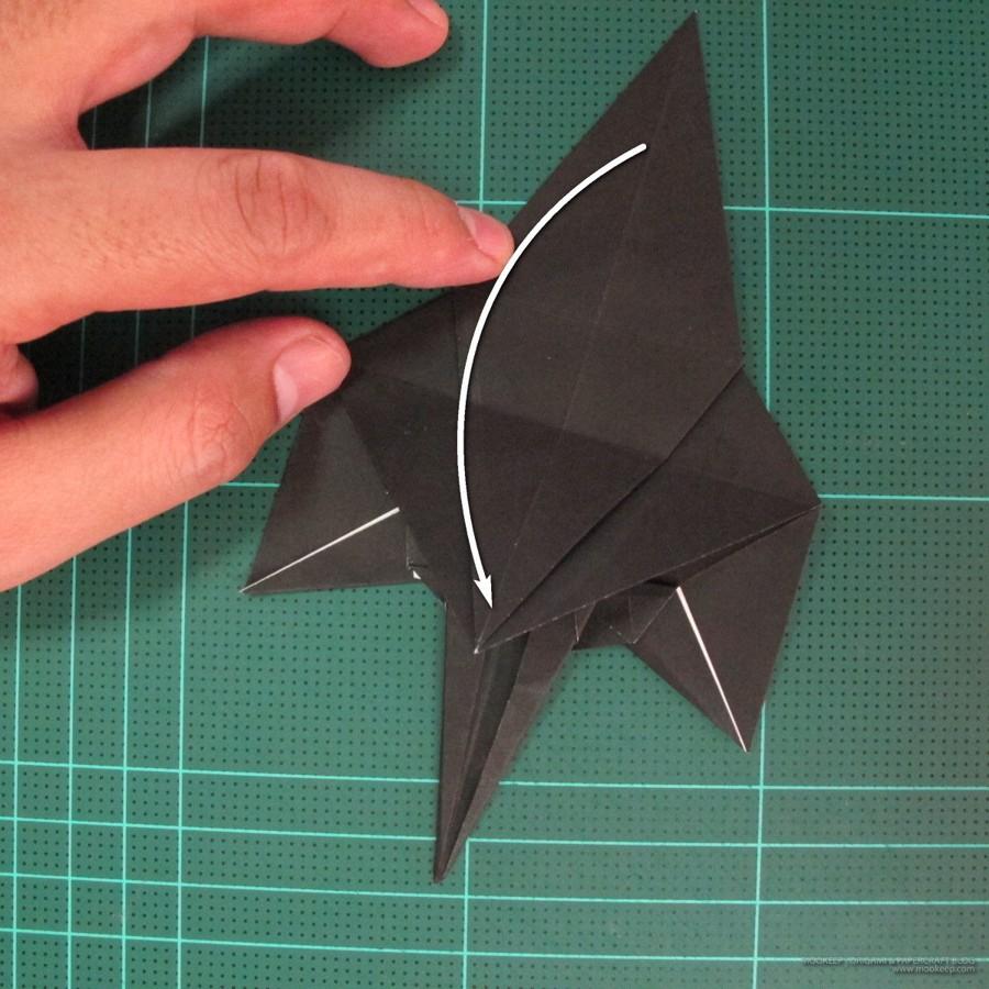 วิธีการพับกระดาษเป็นรูปจิงโจ้ (Origami Kangaroo) 012