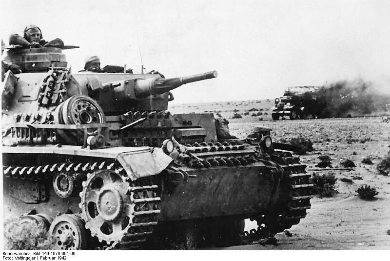 German panzer III tank DAK