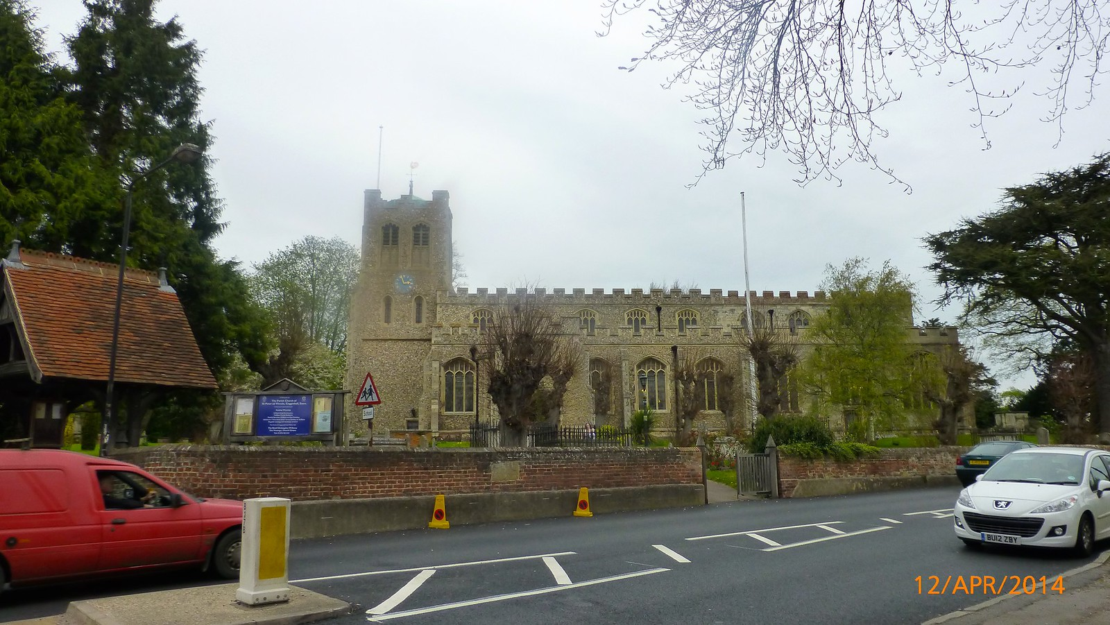 St. Peter ad Vincula Church, Coggeshall SWC Walk 216 Kelvedon Circular